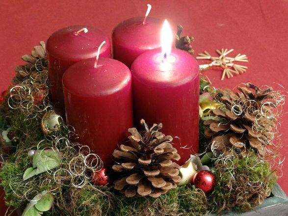 Advent, Advent und alles rennt…