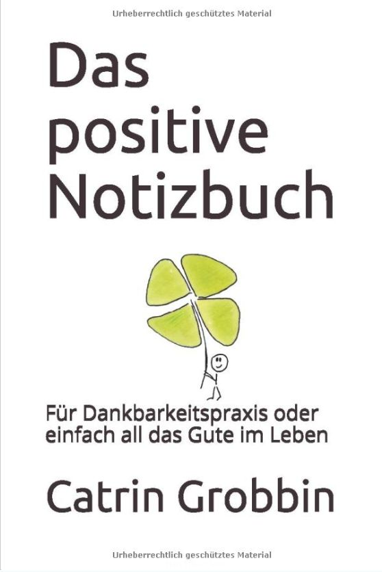 Das positive Notizbuch Deckblatt Vorschau