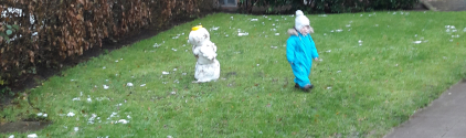 Der erste Schnee(Mann)