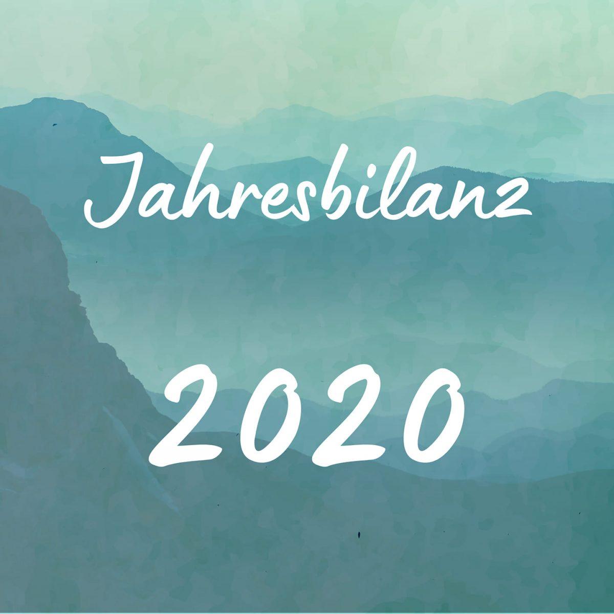 Jahresbilanz 2020