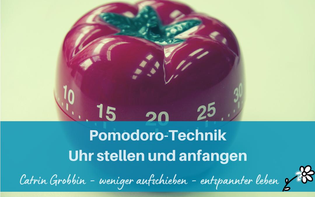 Pomodoro-Technik – Uhr stellen und anfangen